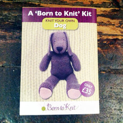 "Born to Knit ""Knit You Own Dog"" Kit"