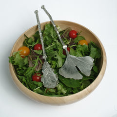 Glover and Smith Leaf salad servers (2 designs)