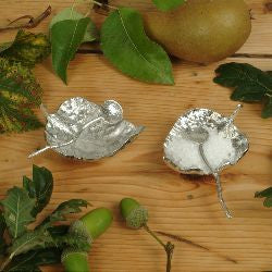Glover and Smith Leaf Bowl & Spoon