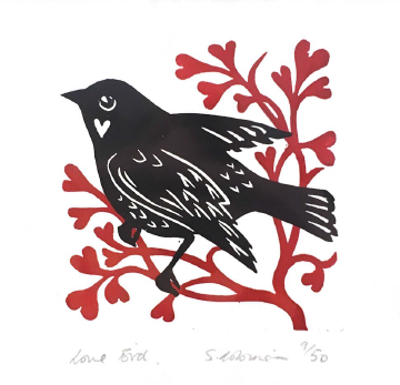 Sarah Robinson - Love Bird 9/50.