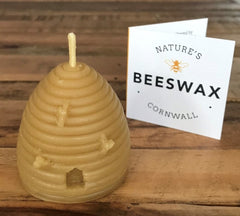 Natures Beeswax Candles - set of 3