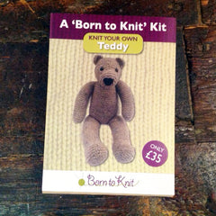 "Born to Knit ""Knit You Own Teddy"" Kit"
