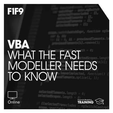 VBA: what the FAST modeller needs to know