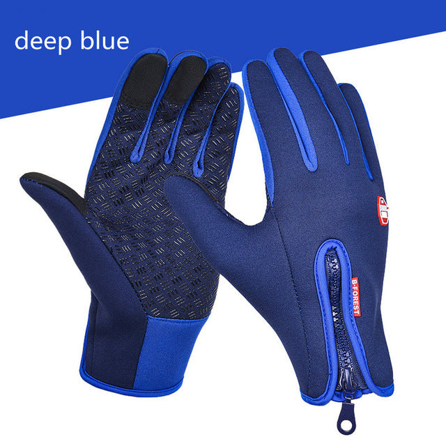 Winter Outdoor Gloves Waterproof Thermal  Gloves for Men Women Driving Hiking Skiing Gloves