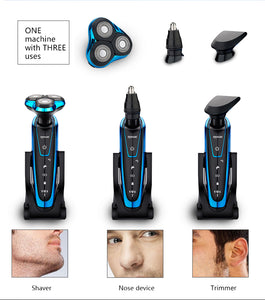 Men Washable Rechargeable Electric Shaver Electric Shaving Beard Machine Razor Rechargeable