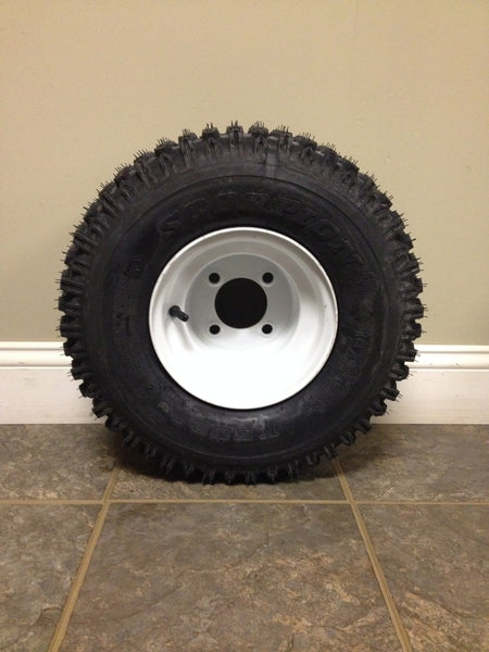 "8"" Kenda Scorpion Tire & Wheel"