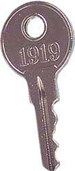 Key Replacement, E-Z-GO : 1919