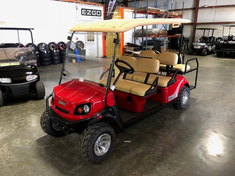 2018 E-Z-GO Express S6 72v Electric