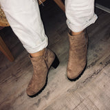 Bottines beige p40