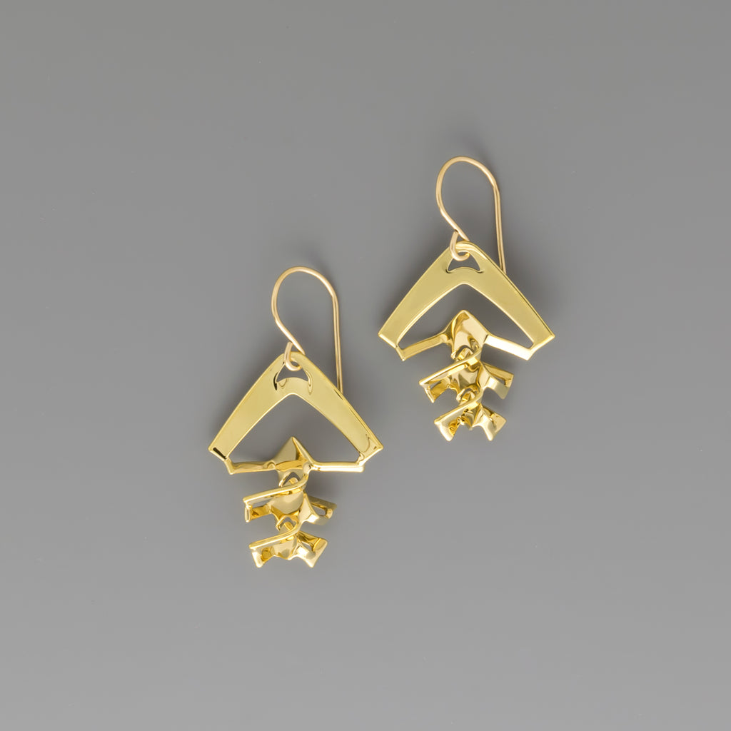 Kirigami Earrings A-036