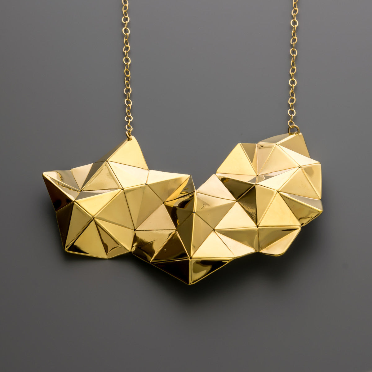 Origami Tessellation Necklace A 067
