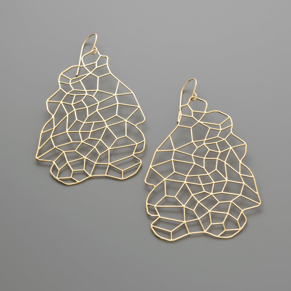 Junctions large earrings A-089