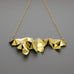 Tessellation short necklace A-106