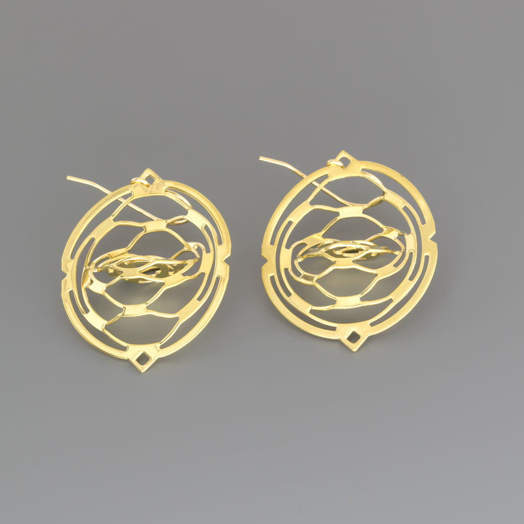 Kirigami earrings A-116