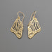 Butterfly wings earrings, small A-126