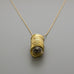 Light bulb long necklace A-060