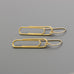 Paper clip Earrings A-136