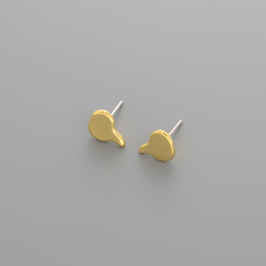 thought bubble stud earrings A-174