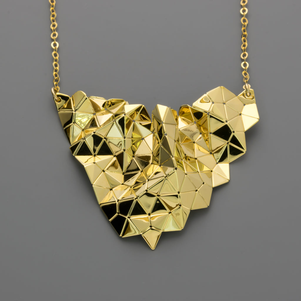 Tessellation short necklace A-256