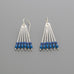 22 Ohms silver earrings A-258