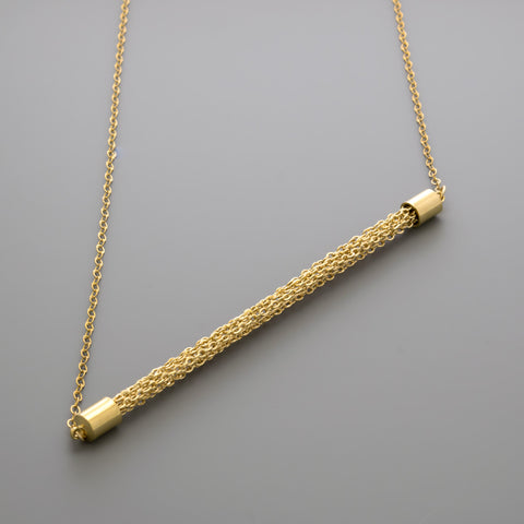 Straight chains Long Necklace A-267