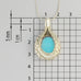 Laser machine lens Long Necklace A-710