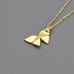 Origami Tessellation Short Necklace A-726