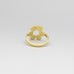 6 Circles Flower Ring A-852