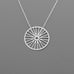 B-209 Wheel through a chain Necklace size 2