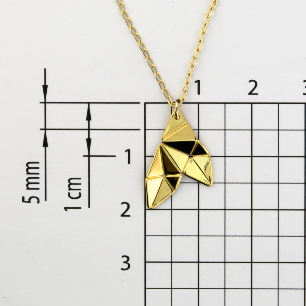 Copy of Origami Tessellation Short Necklace B-294