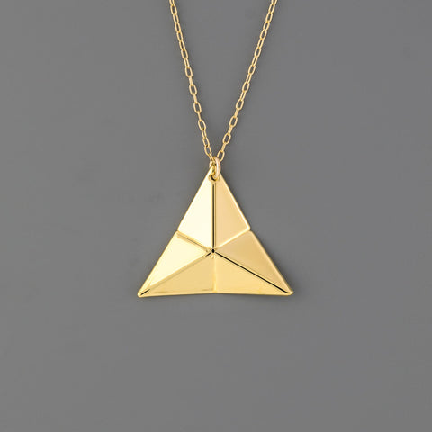 Origami Tessellation Short Necklace