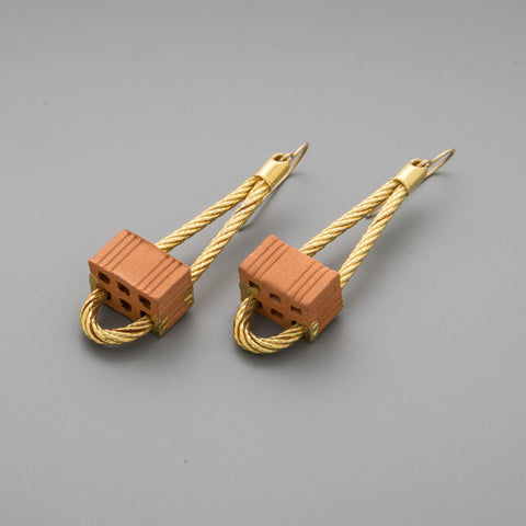 Bricks Earrings