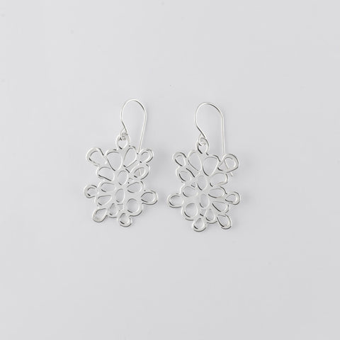 pomegranate close-up Earrings