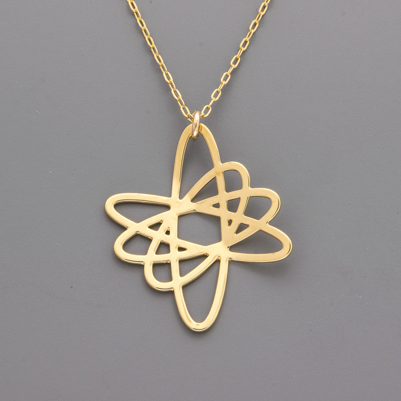 B-343 Atom Necklace