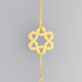 Classic Wavy Star of David Bracelet