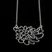 Contour Flower Sort Necklace