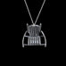 Flat Rocking Chair Necklace