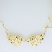 2 Mirrored Bubbles Short Necklace A-080