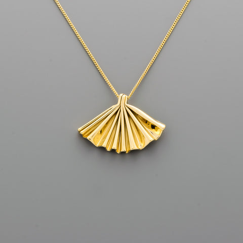 Fan Short Necklace A-011