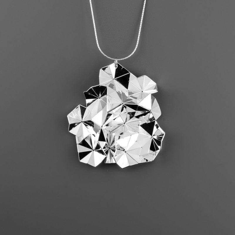 Origami Tessellation Long Necklace A-034