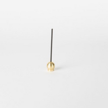 Load image into Gallery viewer, SPHERE BRASS INCENSE HOLDER