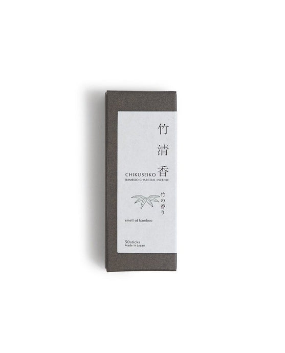 CHIKUSEIKO NATURAL BAMBOO CHARCOAL INCENSE