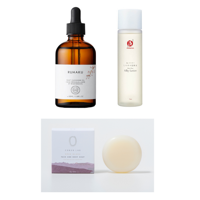 The Double Cleanse & Hydrate Set
