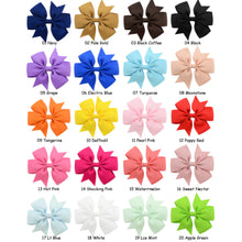 "Load image into Gallery viewer, 2 Pack - 3"" Trendy Hair Bows"