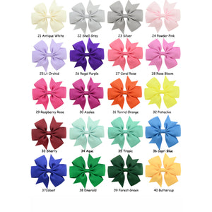 "2 Pack - 3"" Trendy Hair Bows"
