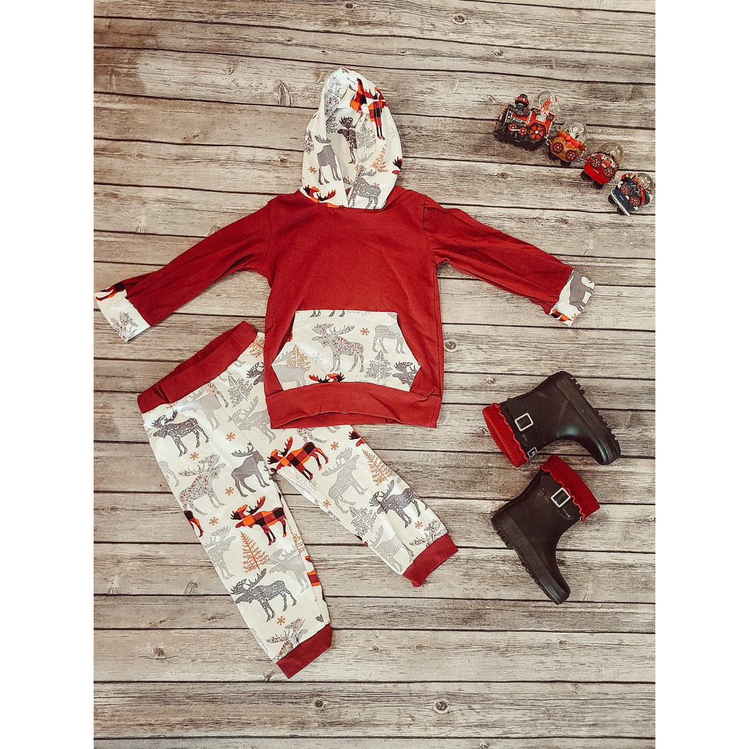 Holiday Herd Unisex Lounge Set