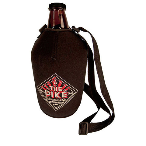 Growler: Picnic Jug-Type, Screw-Cap with Koozie