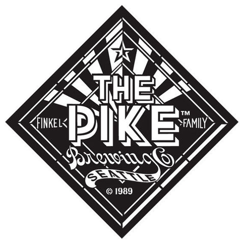 "Helles and Stemmed Pilsner FRONT LOGO: Etched ""The Pike"" Diamond"