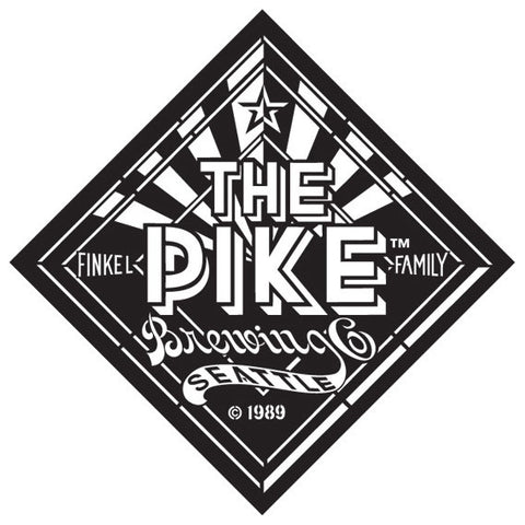 "LOGO: Satin Etched ""The Pike"" Diamond"