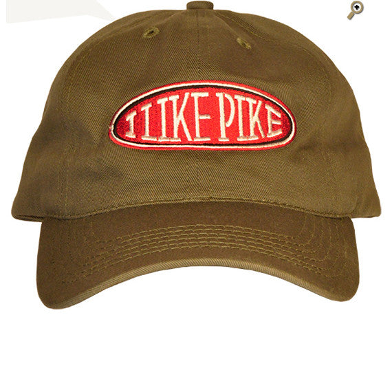 Cap: I Like Pike — FRONT (Shown in Jalepeño)